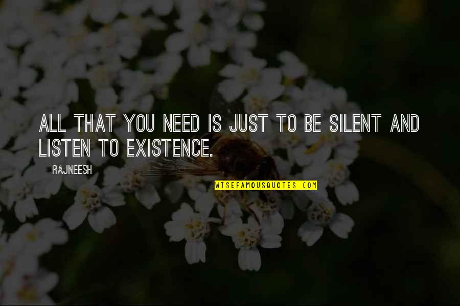 Season 6 Episode 23 Grey's Anatomy Quotes By Rajneesh: All that you need is just to be