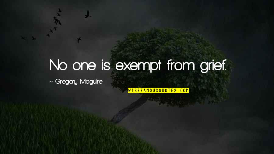 Seinfeld Kramer Quotes By Gregory Maguire: No one is exempt from grief.