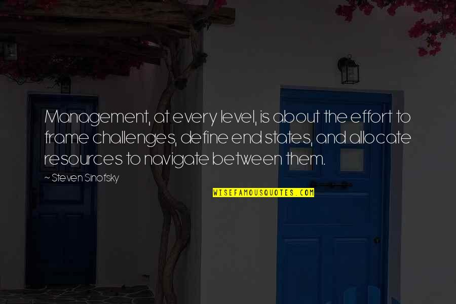 Sergey Titov Quotes By Steven Sinofsky: Management, at every level, is about the effort