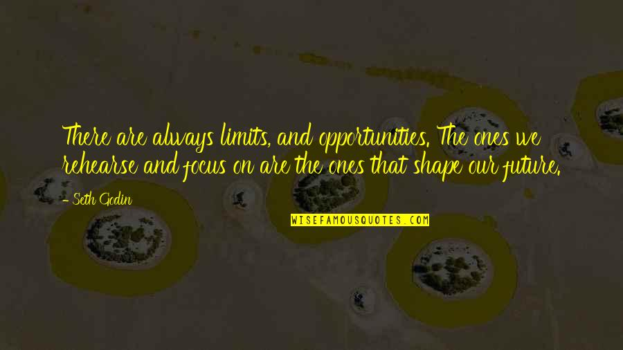 Seth Quotes By Seth Godin: There are always limits, and opportunities. The ones