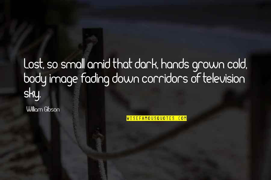 Small States Quotes By William Gibson: Lost, so small amid that dark, hands grown