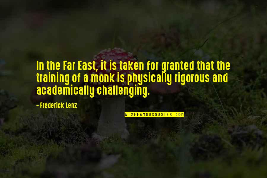 Smokes And Mirrors Quotes By Frederick Lenz: In the Far East, it is taken for