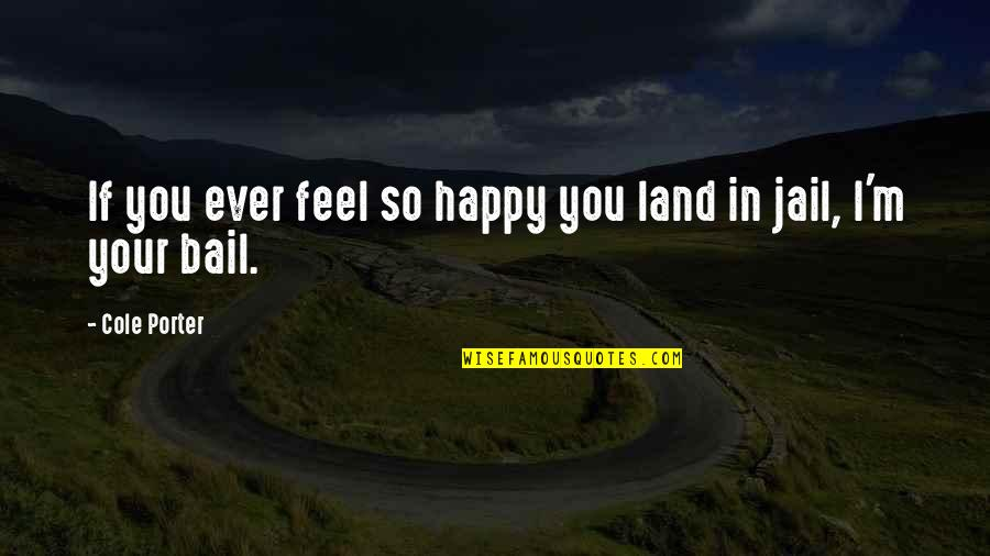 So Cute Quotes By Cole Porter: If you ever feel so happy you land