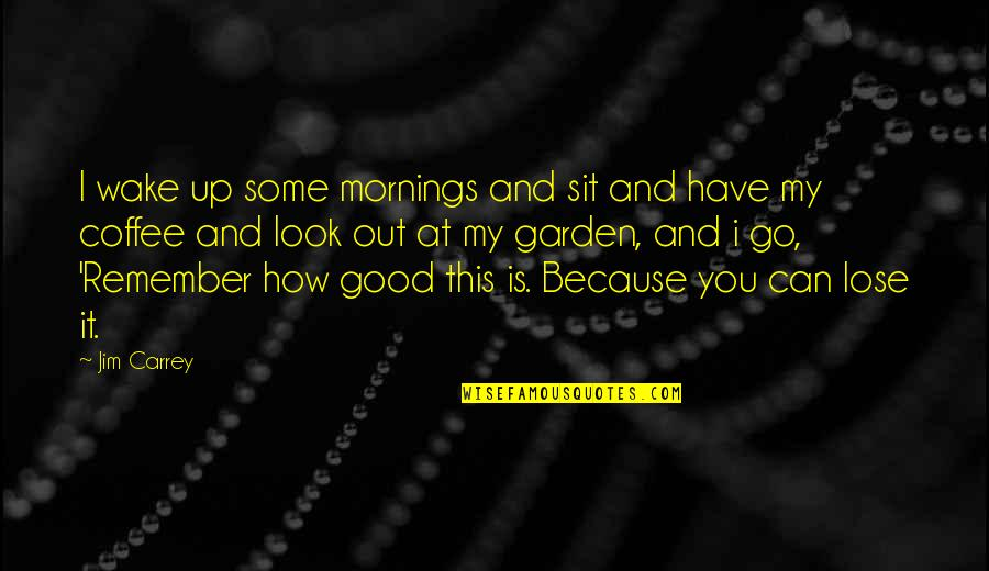 Solitude In 100 Years Of Solitude Quotes By Jim Carrey: I wake up some mornings and sit and