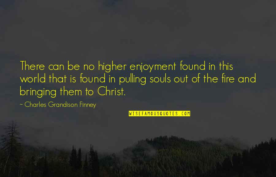 Soul Fire Quotes By Charles Grandison Finney: There can be no higher enjoyment found in