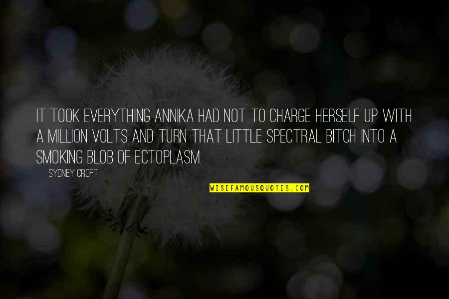 Spectral Quotes By Sydney Croft: It took everything Annika had not to charge
