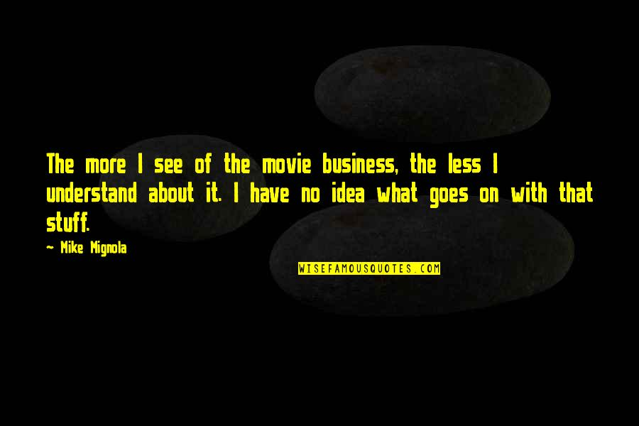 Spyro 3 Quotes By Mike Mignola: The more I see of the movie business,