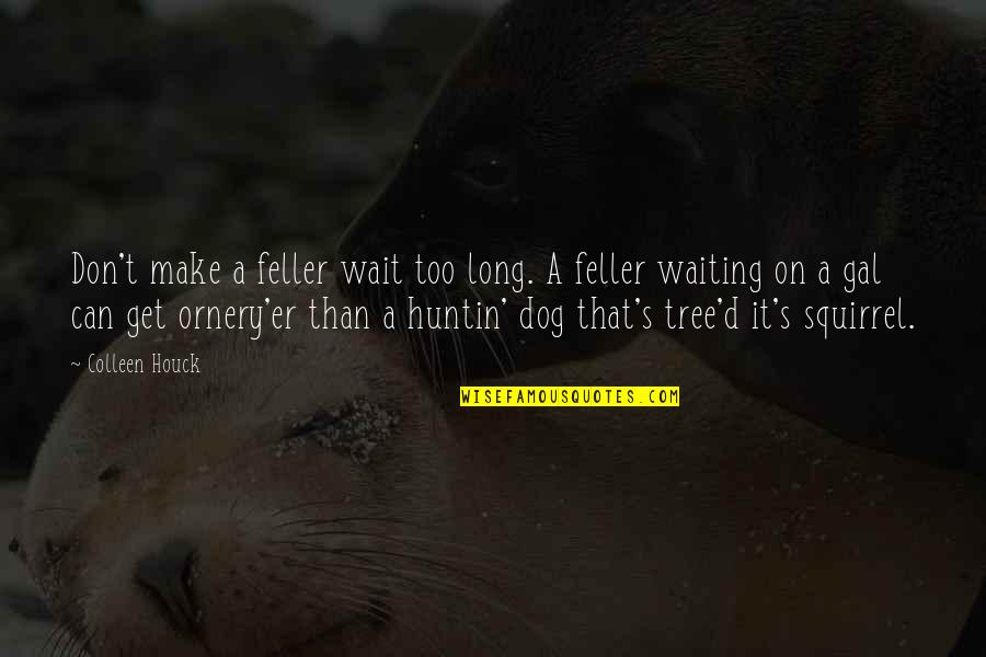 Squirrel Quotes By Colleen Houck: Don't make a feller wait too long. A