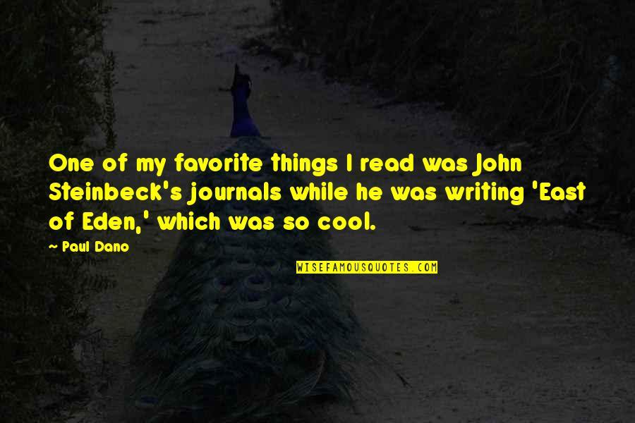 Sri Guru Granth Sahib Ji Quotes By Paul Dano: One of my favorite things I read was