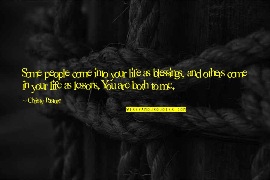 Star Trek Into Darkness Trailer Quotes By Christy Pastore: Some people come into your life as blessings,
