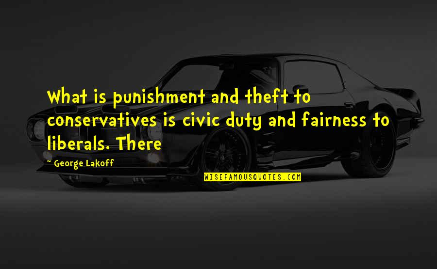 Startlement Quotes By George Lakoff: What is punishment and theft to conservatives is
