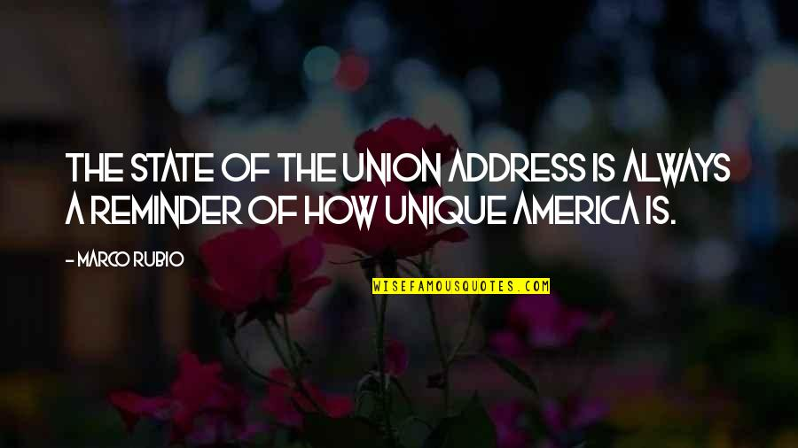 State Of Union Quotes By Marco Rubio: The State of the Union address is always