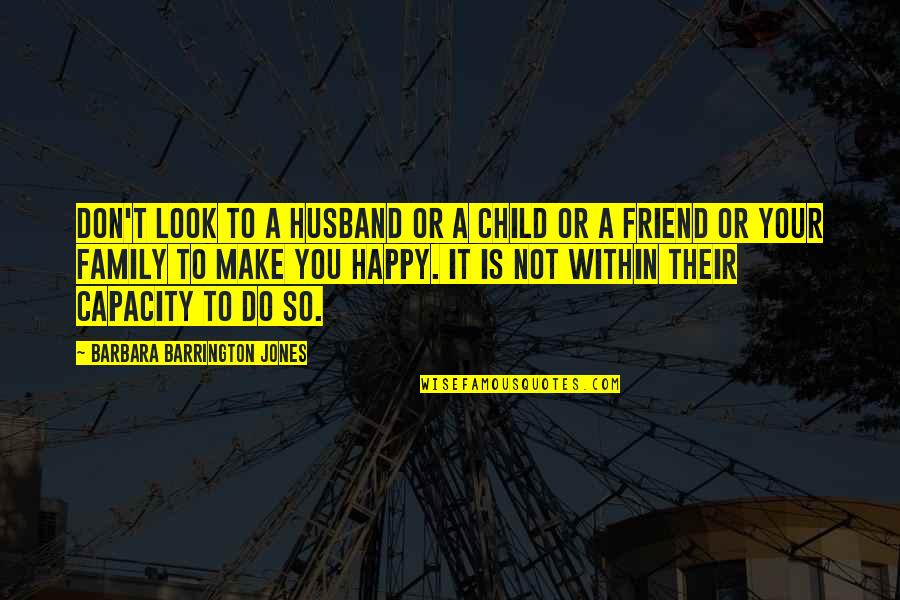 Stock Charts Quotes By Barbara Barrington Jones: Don't look to a husband or a child