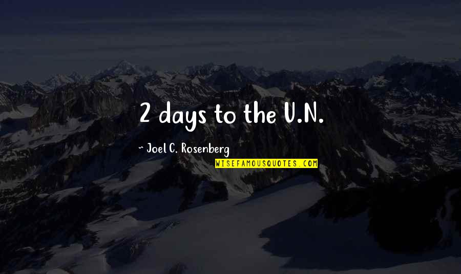 Sublime Text 2 Double Quotes By Joel C. Rosenberg: 2 days to the U.N.