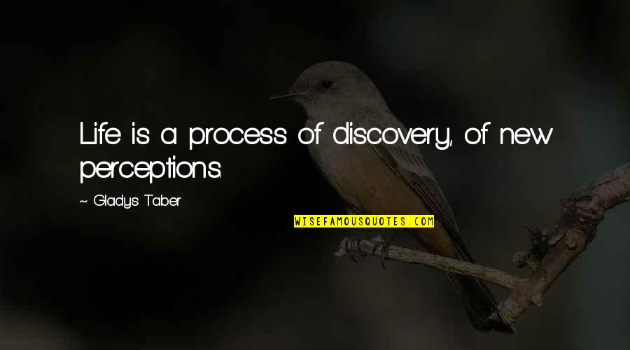 Suddenly It's Magic Quotes By Gladys Taber: Life is a process of discovery, of new