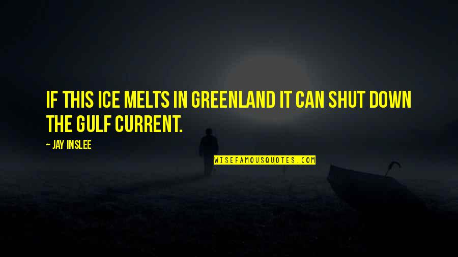 Suits Harvey Specter Quotes By Jay Inslee: If this ice melts in Greenland it can
