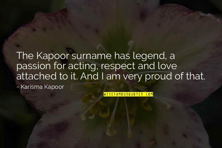 Surname Quotes By Karisma Kapoor: The Kapoor surname has legend, a passion for