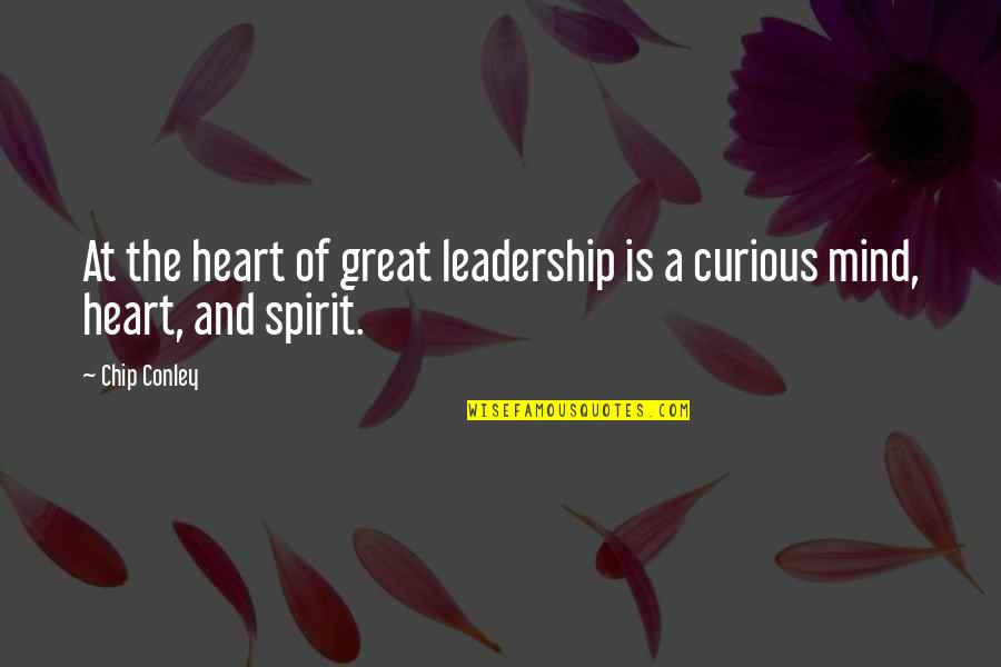 Svg File Quotes By Chip Conley: At the heart of great leadership is a
