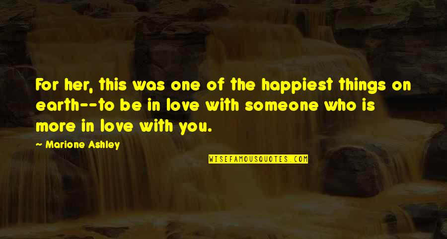 Tagalog Love Quotes By Marione Ashley: For her, this was one of the happiest
