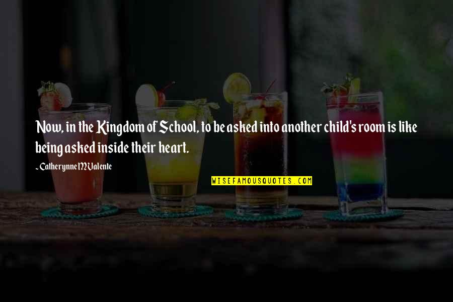 Tamilian Quotes By Catherynne M Valente: Now, in the Kingdom of School, to be