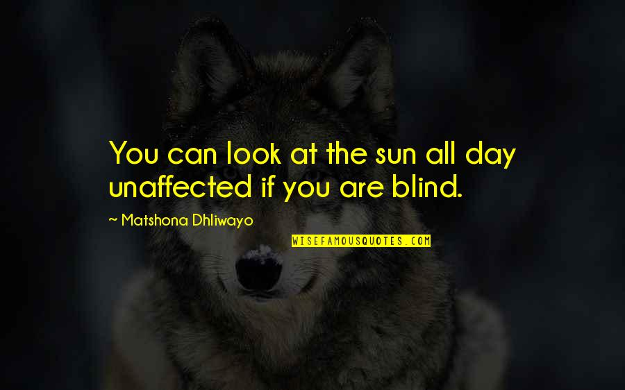 Tan Lines Memorable Quotes By Matshona Dhliwayo: You can look at the sun all day
