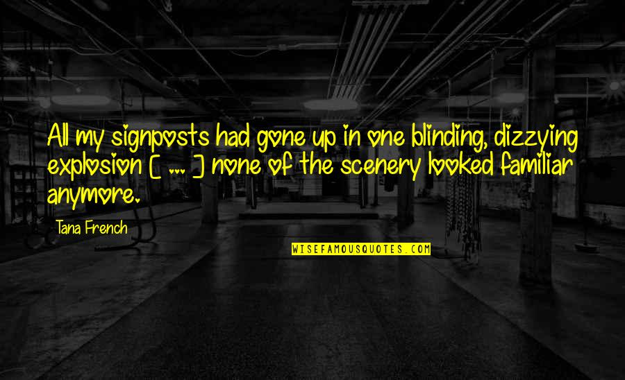 Tana Quotes By Tana French: All my signposts had gone up in one
