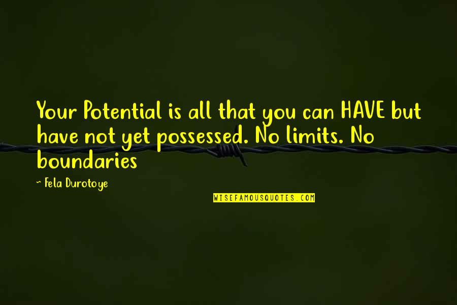 Tennessee Insurance Quotes By Fela Durotoye: Your Potential is all that you can HAVE