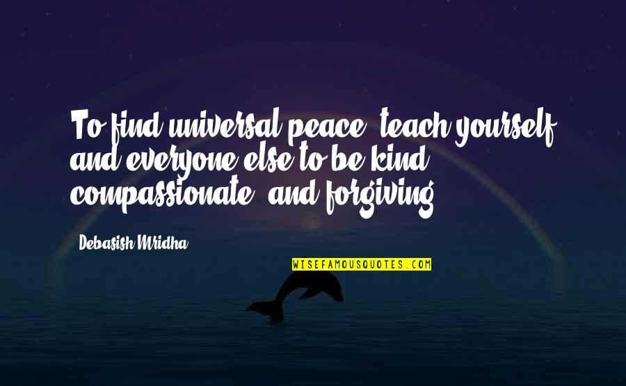 Tent Rental Quotes By Debasish Mridha: To find universal peace, teach yourself and everyone