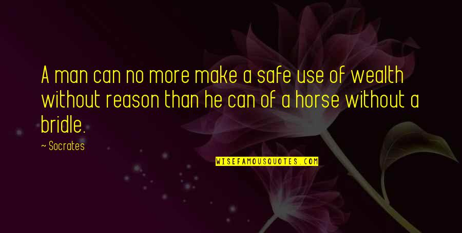 Thankskilling Best Quotes By Socrates: A man can no more make a safe