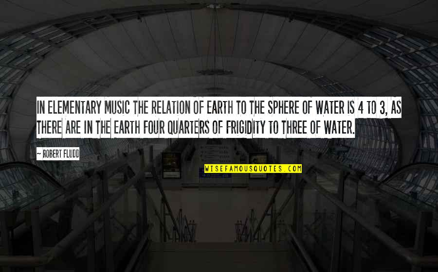 The 3 Quotes By Robert Fludd: In Elementary Music The Relation Of Earth To