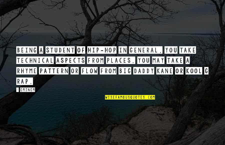 The Alchemy Of Happiness Quotes By Eminem: Being a student of hip-hop in general, you