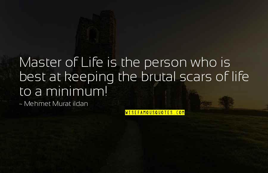 The Best Person Quotes By Mehmet Murat Ildan: Master of Life is the person who is