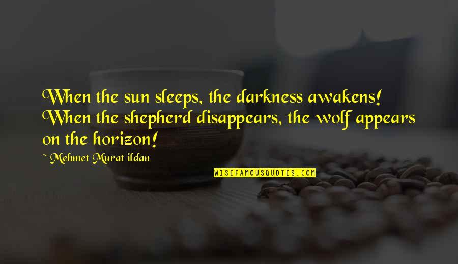The Black Queen Criminal Minds Quotes By Mehmet Murat Ildan: When the sun sleeps, the darkness awakens! When