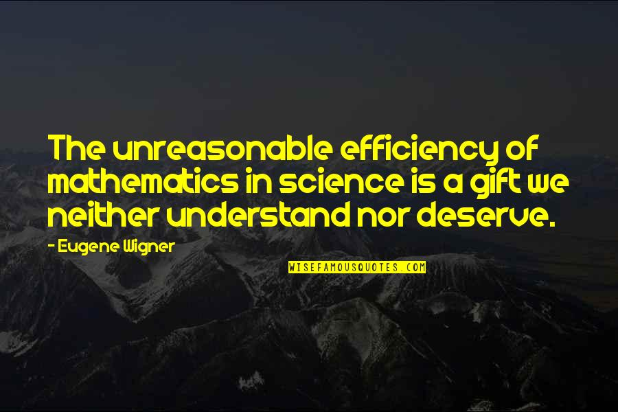 The Internet Is Coming Quotes By Eugene Wigner: The unreasonable efficiency of mathematics in science is
