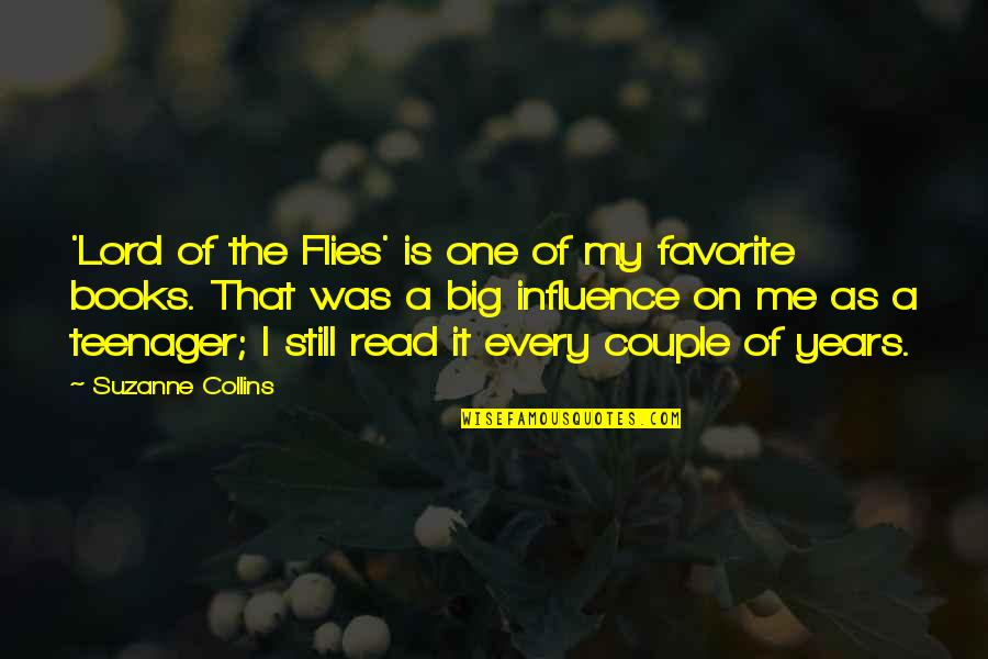The Lord Of Flies Quotes By Suzanne Collins: 'Lord of the Flies' is one of my