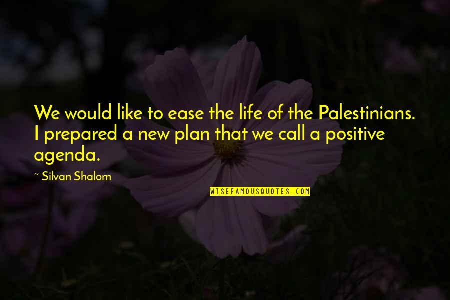The New Life Quotes By Silvan Shalom: We would like to ease the life of