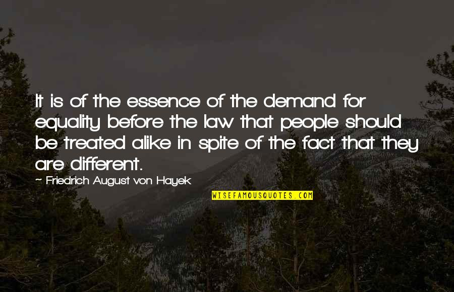 The Pardoner's Tale Critical Quotes By Friedrich August Von Hayek: It is of the essence of the demand