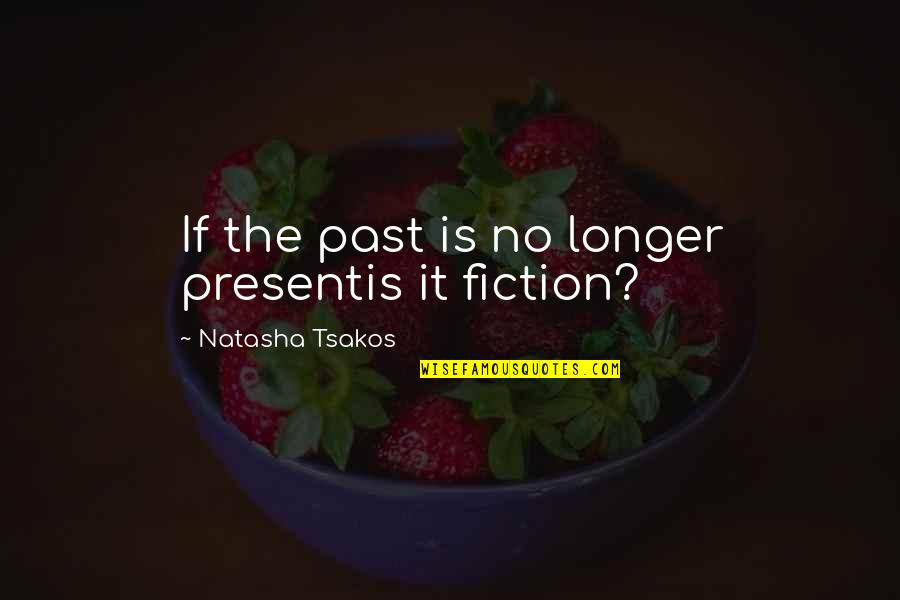 The Past Present Future Quotes By Natasha Tsakos: If the past is no longer presentis it