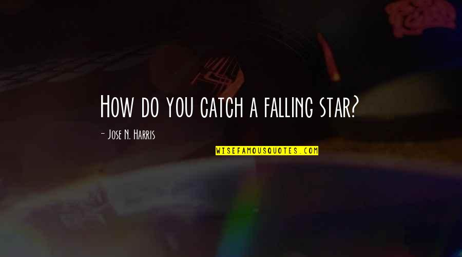 The Road To Recovery Quotes By Jose N. Harris: How do you catch a falling star?