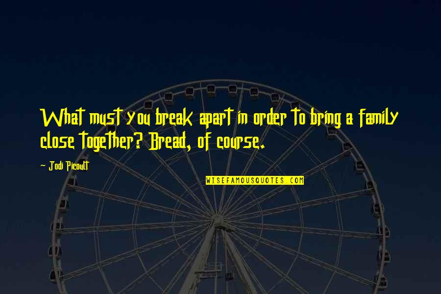 The Storyteller Jodi Quotes By Jodi Picoult: What must you break apart in order to
