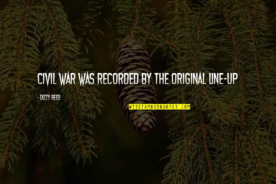 The Us Civil War Quotes By Dizzy Reed: Civil War was recorded by the original line-up