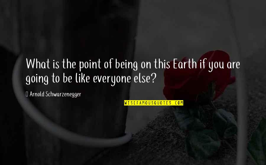 The What If Quotes By Arnold Schwarzenegger: What is the point of being on this