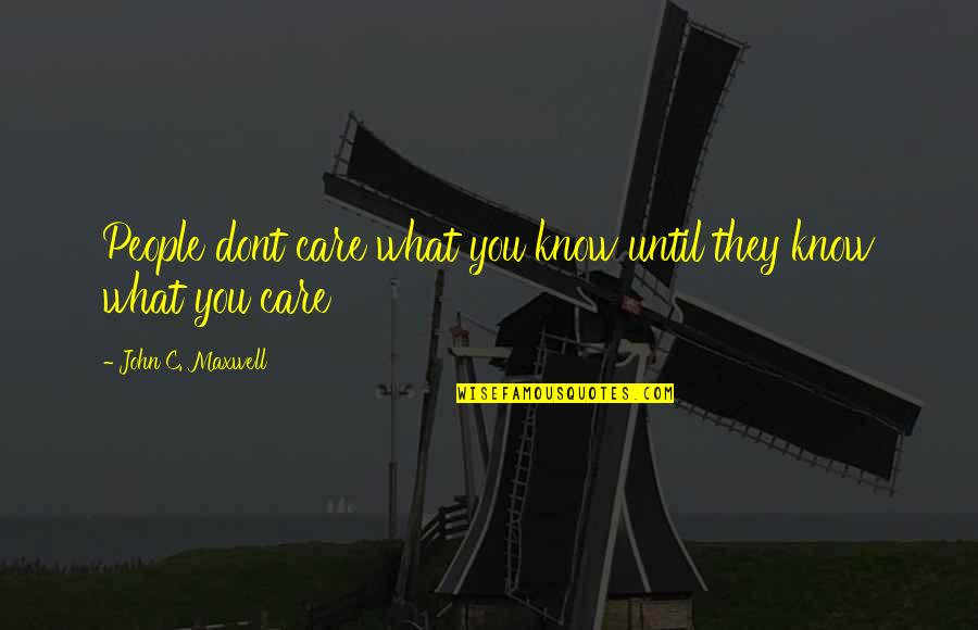They Dont Care Quotes Top 44 Famous Quotes About They Dont Care