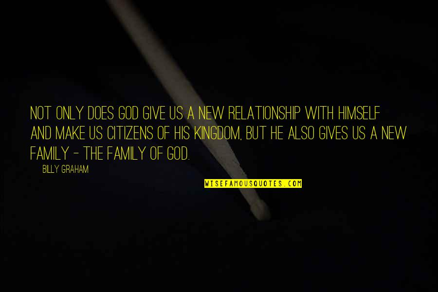 Thinking Too Much Pinterest Quotes By Billy Graham: Not only does God give us a new