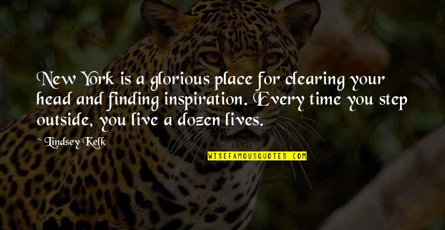Time And Friendship Quotes By Lindsey Kelk: New York is a glorious place for clearing