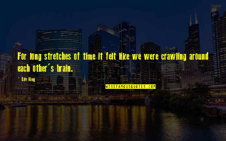 Time Together Love Quotes By Lily King: For long stretches of time it felt like
