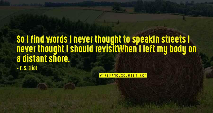 Timelessness Quotes By T. S. Eliot: So I find words I never thought to