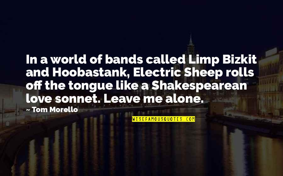 Tom Morello Quotes By Tom Morello: In a world of bands called Limp Bizkit