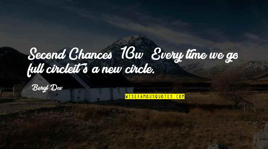 Too Many Second Chances Quotes By Beryl Dov: Second Chances [10w] Every time we go full