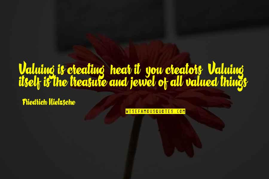Toronto Exchange Real Time Quotes By Friedrich Nietzsche: Valuing is creating: hear it, you creators! Valuing